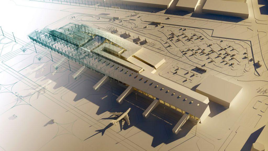 Aeropuerto Internacional de Chiclayo, Perú, nuevo área terminal