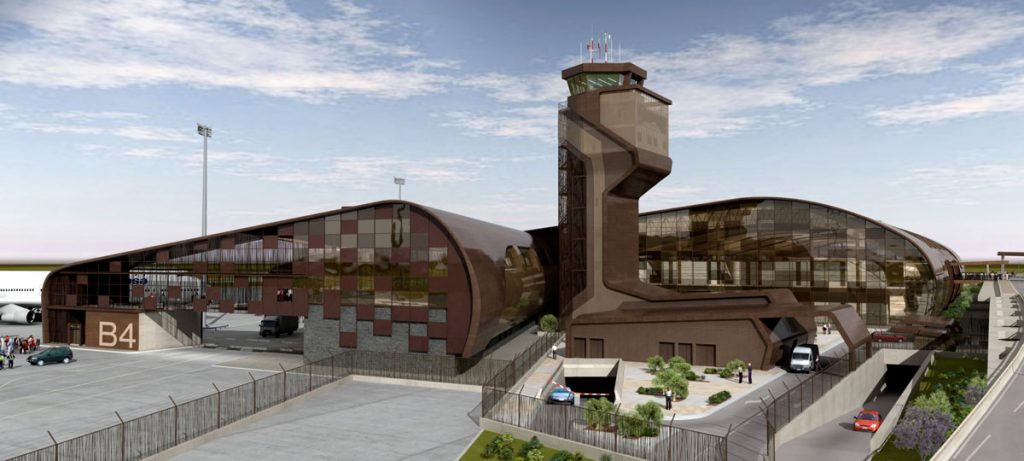 Aeropuerto de Reus, nueva torre de control