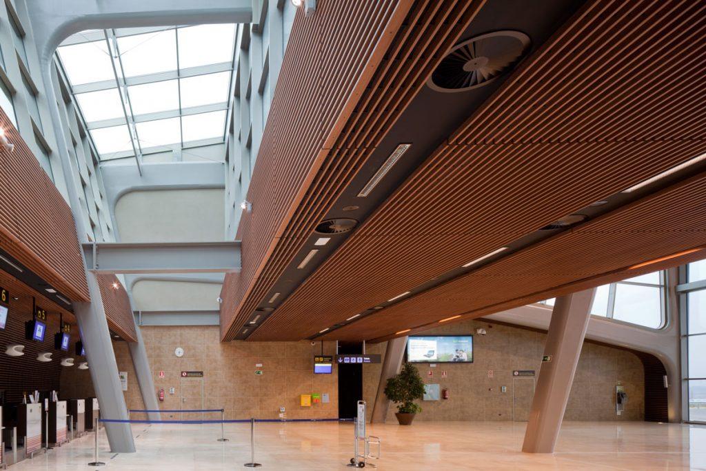 Aeropuerto deLeón, nuevo área terminal