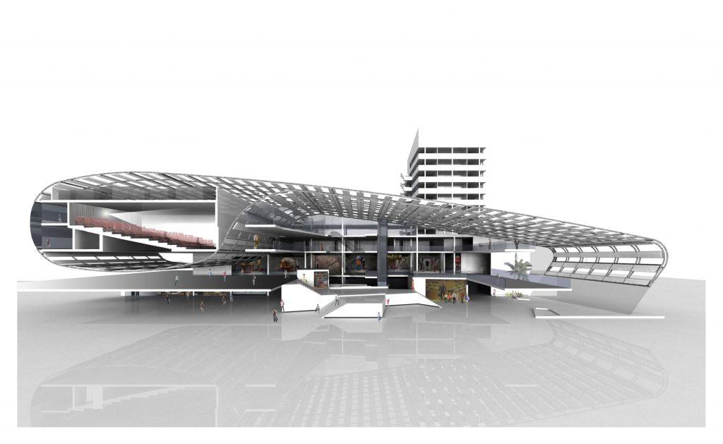 Centro comercial y cines, Kalunga