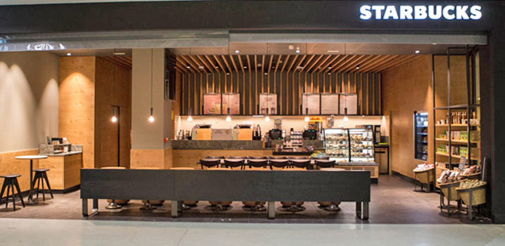 Starbucks. Aeropuerto Ibiza