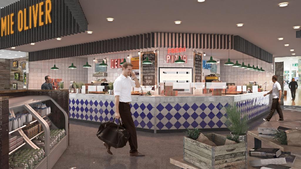Jaime Oliver lado tierra. Aeropuerto Barcelona