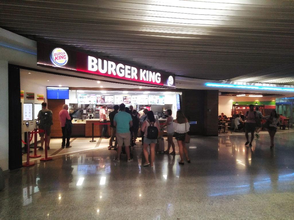 Burger King. Aeropuerto Palma Malloraca