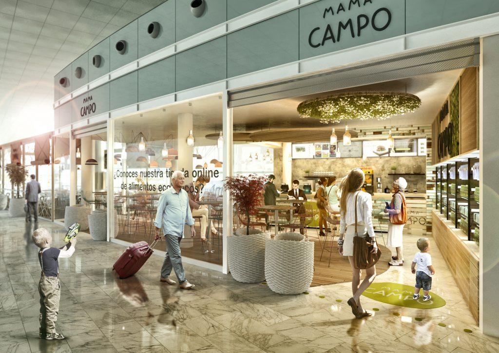 Mama Campo. Aeropuerto Barcelona