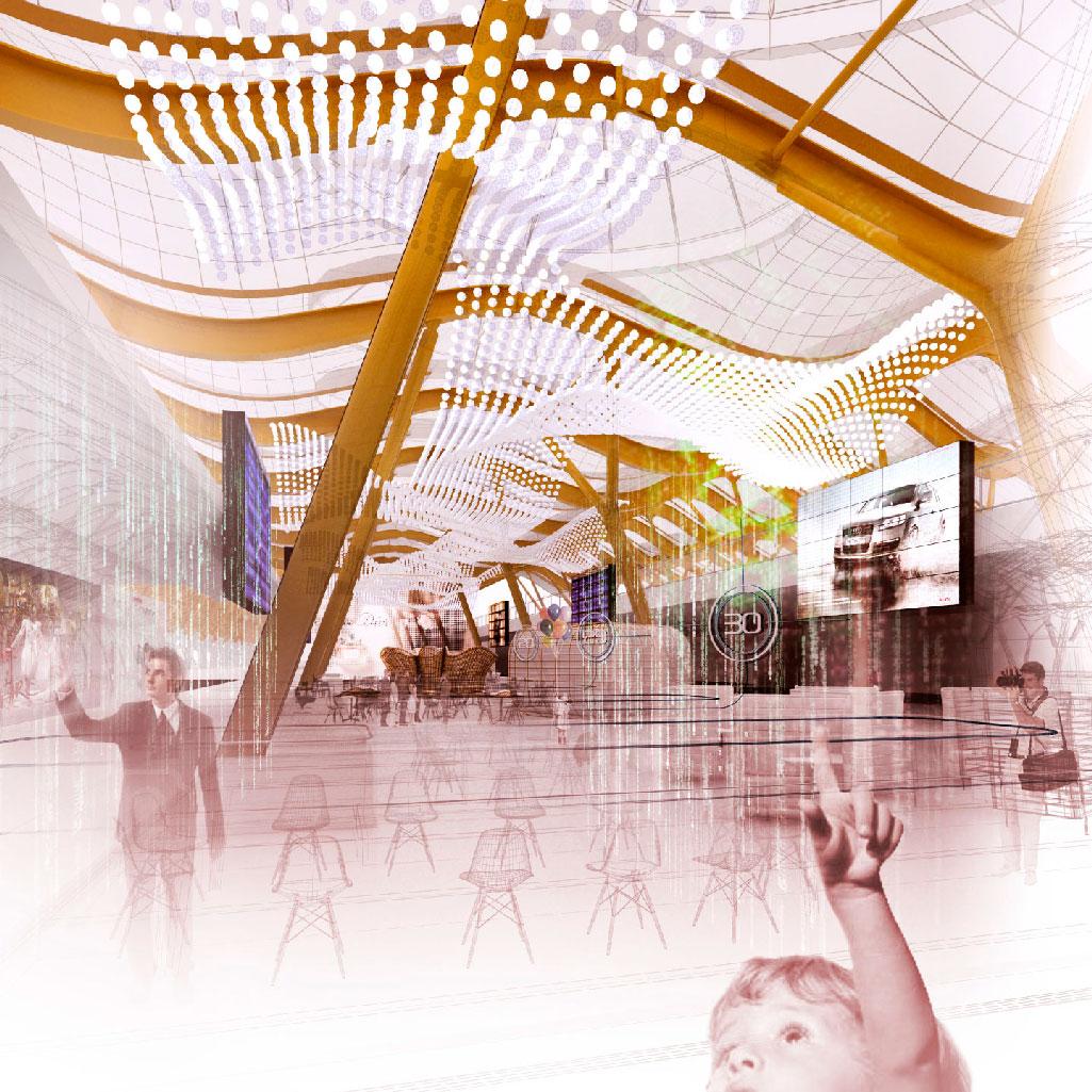 Plazas del Área Comercial de las Terminales T4 y T4s